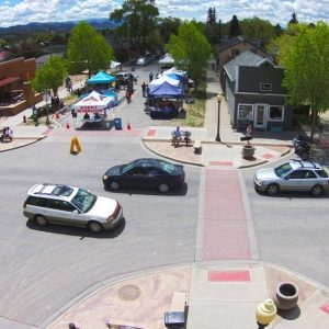 """Aerial look at Salida, Colo. It took over three decades, but the """"Heart of the Rockies"""" today shines as an example of how to create a strong, lasting rural economy."""